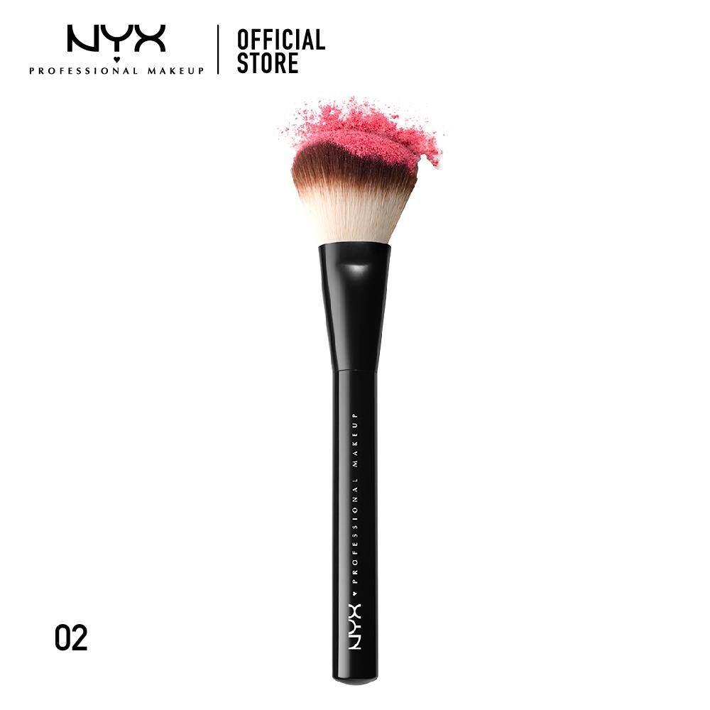 แปรงแต่งหน้าขนสังเคราะห์สัมผัสนุ่ม นิกซ์ โปรเฟสชั่นแนล เมคอัพ เมคอัพ บรัช NYX Professional Makeup Makeup Brush - PROB02 (แปรงแต่งหน้า)
