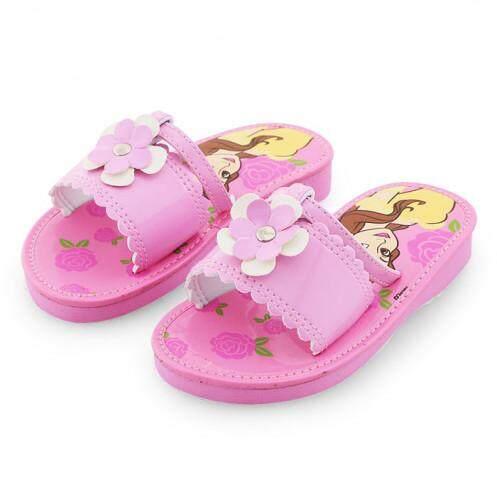 รองเท้าแตะสำหรับเด็ก รุ่น BC1008 ลายเจ้าหญิง สีชมพู ขนาด 29