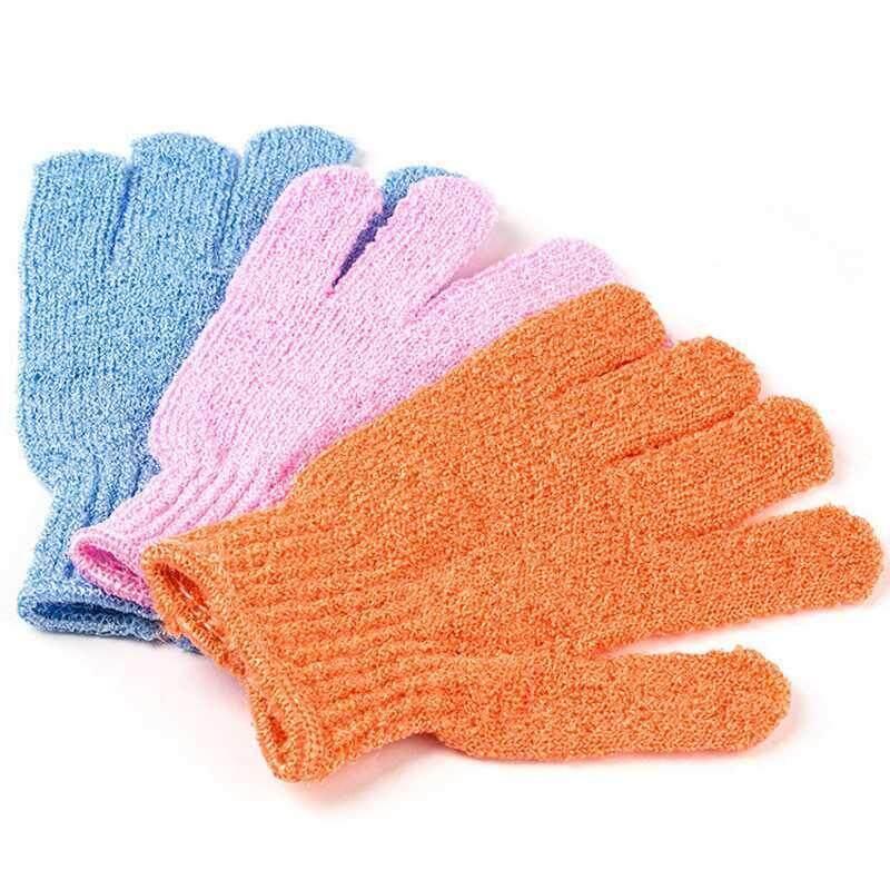 20Pcs Exfoliating Bath Shower Glove For Peeling Exfoliating Glove For Bath Shower Scrub Gloves Sponge Bath Shower Wash Skin Spa