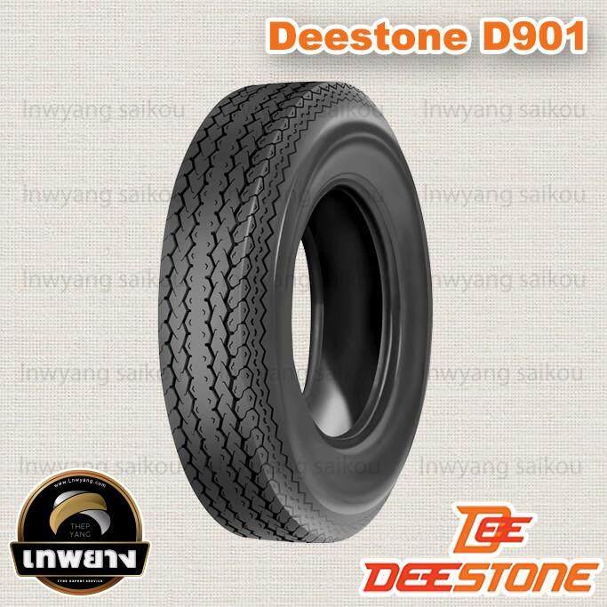 5.70-8 6pr ยี่ห้อ Deestone รุ่น D901 Tl ยางรถ Trailer รถลากจูง By Lnwyang Saikou.