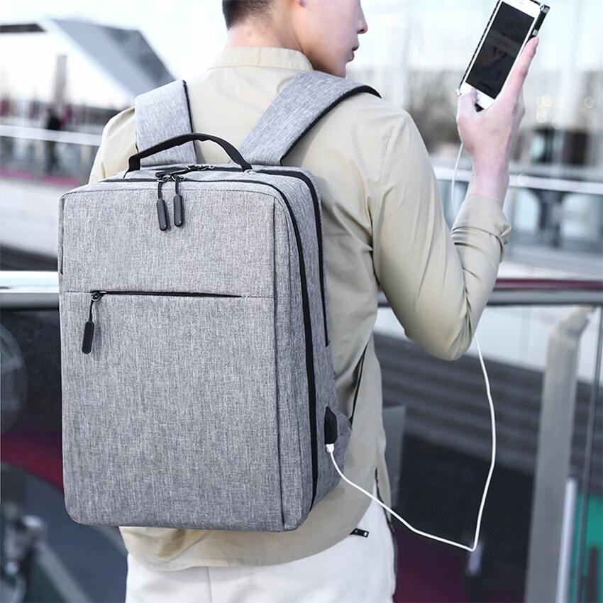 (mei Nai Li) ส่งฟรี Backpack กระเป๋าสะพาย กระเป๋า กระเป๋าสะพายหลัง เป้แฟชั่น กระเป๋าเป้สะพายหลังผู้ชาย กระเป๋าแล็ปท็อป โน้ตบุ๊ก กระเป๋าเป้ กระเป๋าใส่เอกสาร กระเป๋าสัมภาระ กระเป๋าโน๊ตบุ๊ค กระเป๋าเป้สะพายหลัง กระเป๋าคอมพิวเตอร์.