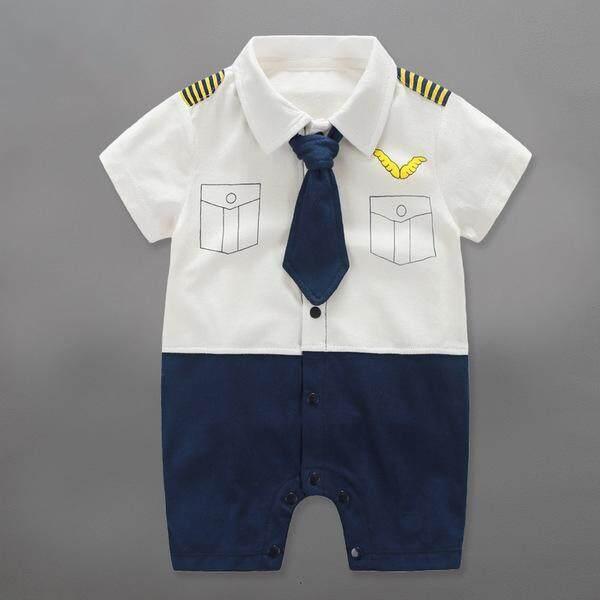 รีวิว บอดี้สูทเด็ก ชุดนักบิน ชุดเด็ก รอมเปอร์ ชุดเด็กน่ารัก ชุดหล่อ แขนสั้นขาสั้น