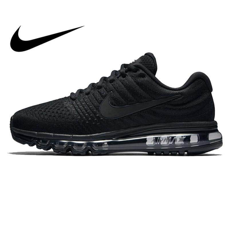 Nike_AIR MAX_Rubber Men's Running Shoes Sneakers Breathable Outdoor Sports Comfortable Durable