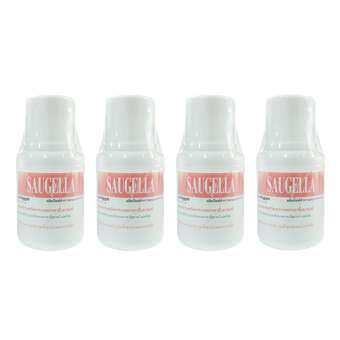 Saugella Poligyn Neutral pH ซอลเจลล่า โพลิจิน สูตร นิวทรอลพีเอช 100ml (4ขวด)-