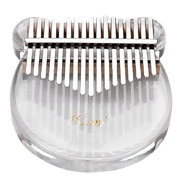 KIMI 17 Key Kalimba Acrylic Thumb Piano Transparent Keyboard Instrument with Tuner Hammer + Gig Bag + Sticks Malaysia