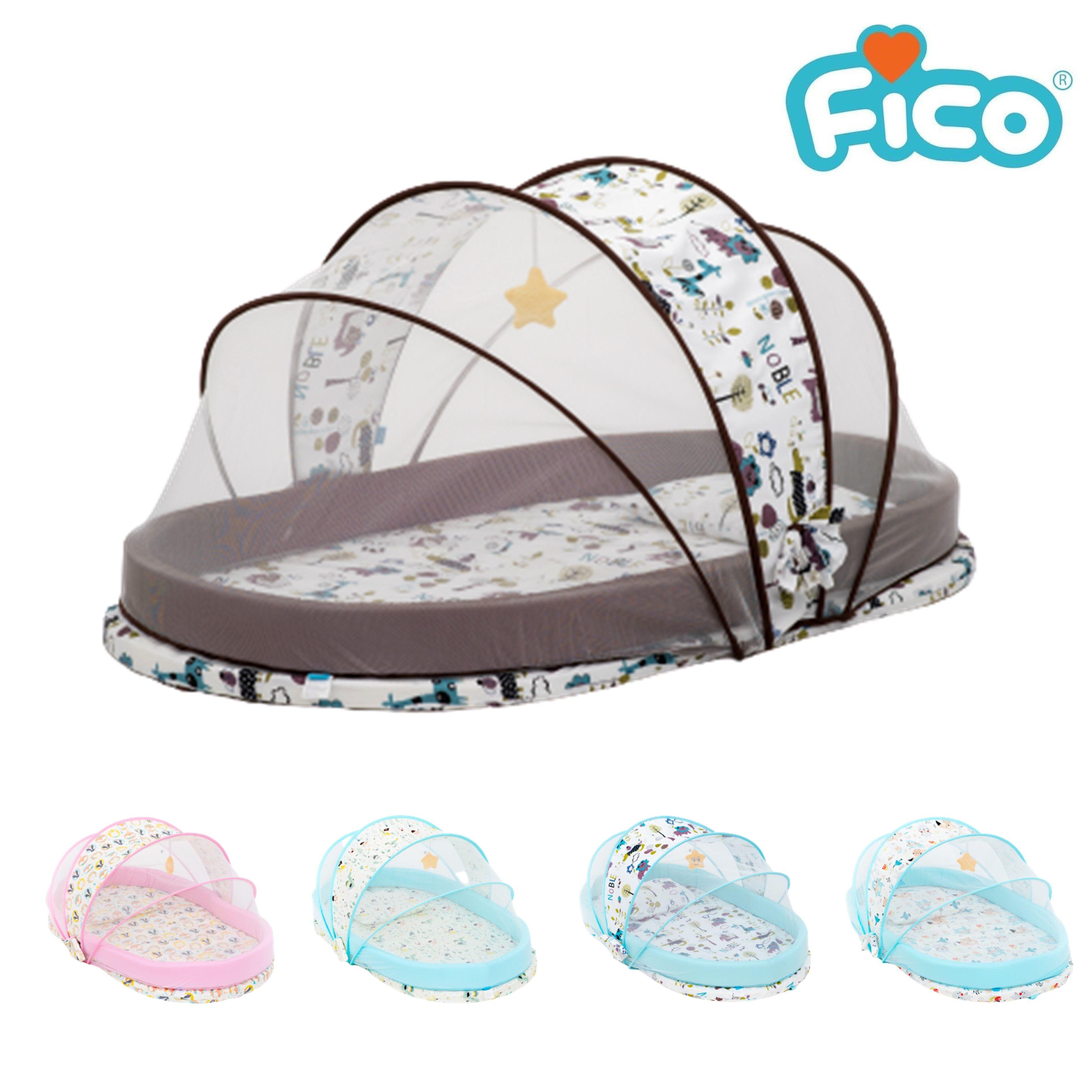 โปรโมชั่น Fico ที่นอนเด็กพร้อมมุ้งกันยุง รุ่น FCC-102 ไซต์ L