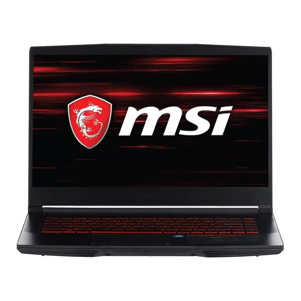 โน้ตบุ๊ค Msi Gaming Notebook Gf63 8rd-413th Core I7-8750h 8th Gen 15.6-Inch (ram 8gb Ddr4/geforce Gtx 1050ti 4gb Gddr5/hdd 1 Tb 5400 Rpm + 16 Gb Intel Optane/win 10/2 Years Warranty)black By Retail Msi.
