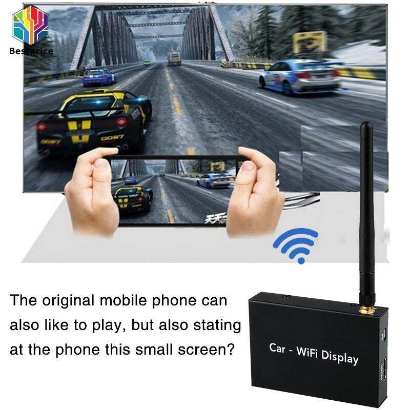 Bestprice-Car Wifi Display Mirror Link Box Miracasst Airplay Dlna Hdmi For Android Ios - Intl.