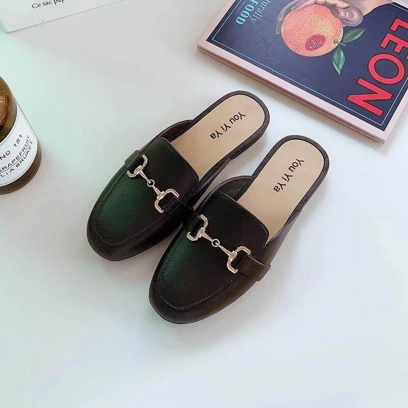 รองเท้าคัทชูผู้หญิงแฟชั่นยางหนังนิ่ม รุ่น Tp62.