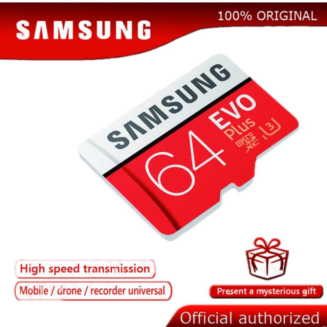 Samsung 100mb / S การ์ด Micro Sd 64 กิกะไบต์การ์ดหน่วยความจำ Class10 U3 แฟลช Tf การ์ด Microsd สำหรับโทรศัพท์ด้วยมินิ Sdhc Sdxc By Gigabit Memory Card.