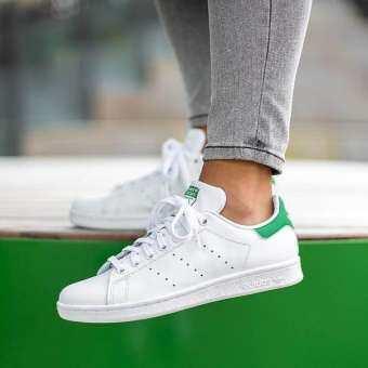 รองเท้าผ้าใบ ADIDAS  อาดิดาส STAN SMITH GREEN สีเขียว (รุ่นยอดฮิตตลอดกาล) ++ลิขสิทธิ์แท้ 100% จาก ADIDAS พร้อมส่ง ส่งด่วน kerry++