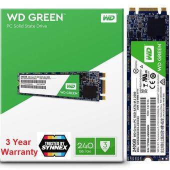 WD SSD GREEN 240GB M 2 GREEN-3D 2280 (Read 540MB/s Write 465MB/s/)/Warranty  3Year /NEW /BY SYNNEX