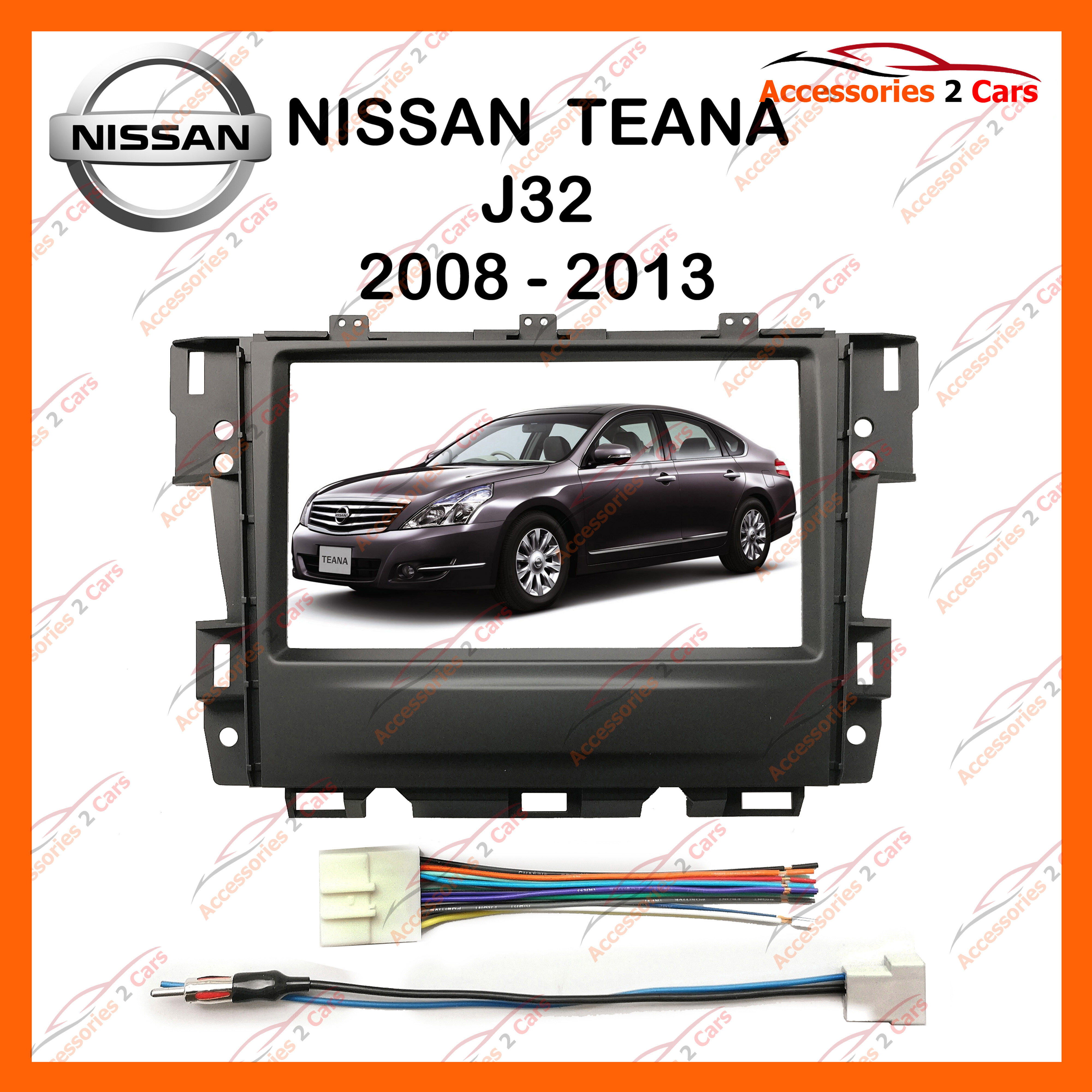 โปรโมชั่น หน้ากากวิทยุรถยนต์ NISSAN TEANA J32 2DIN สำหรับจอ 7 นิ้ว (NV-NI-002)