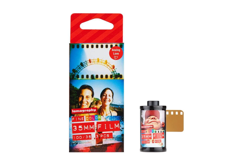 ฟิล์มสี 1ม้วน Lomography Color Negative 100 35mm 36exp Film 135-36 ฟิล์มถ่ายรูป Lomo ฟิล์ม 135.