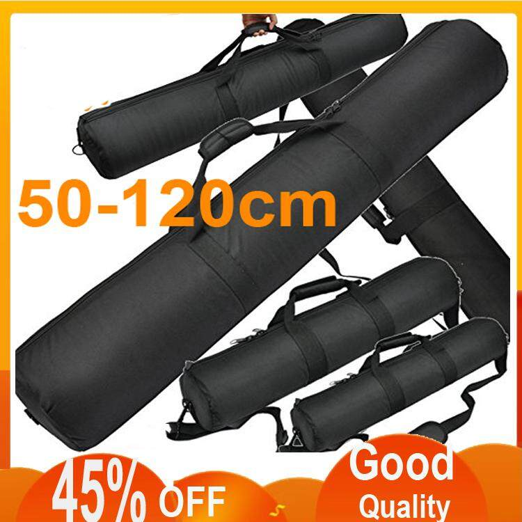 Digital Photography Studio Flash Light Stand Tripod Carry Carring Case Bag Pad Package 55-120cm  สี : 90x12CM