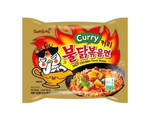 แบ่งขายมาม่าเกาหลี รสเผ็ดแกงกะหรี่ (samyang Buldak Curry) By Nsweetshop.