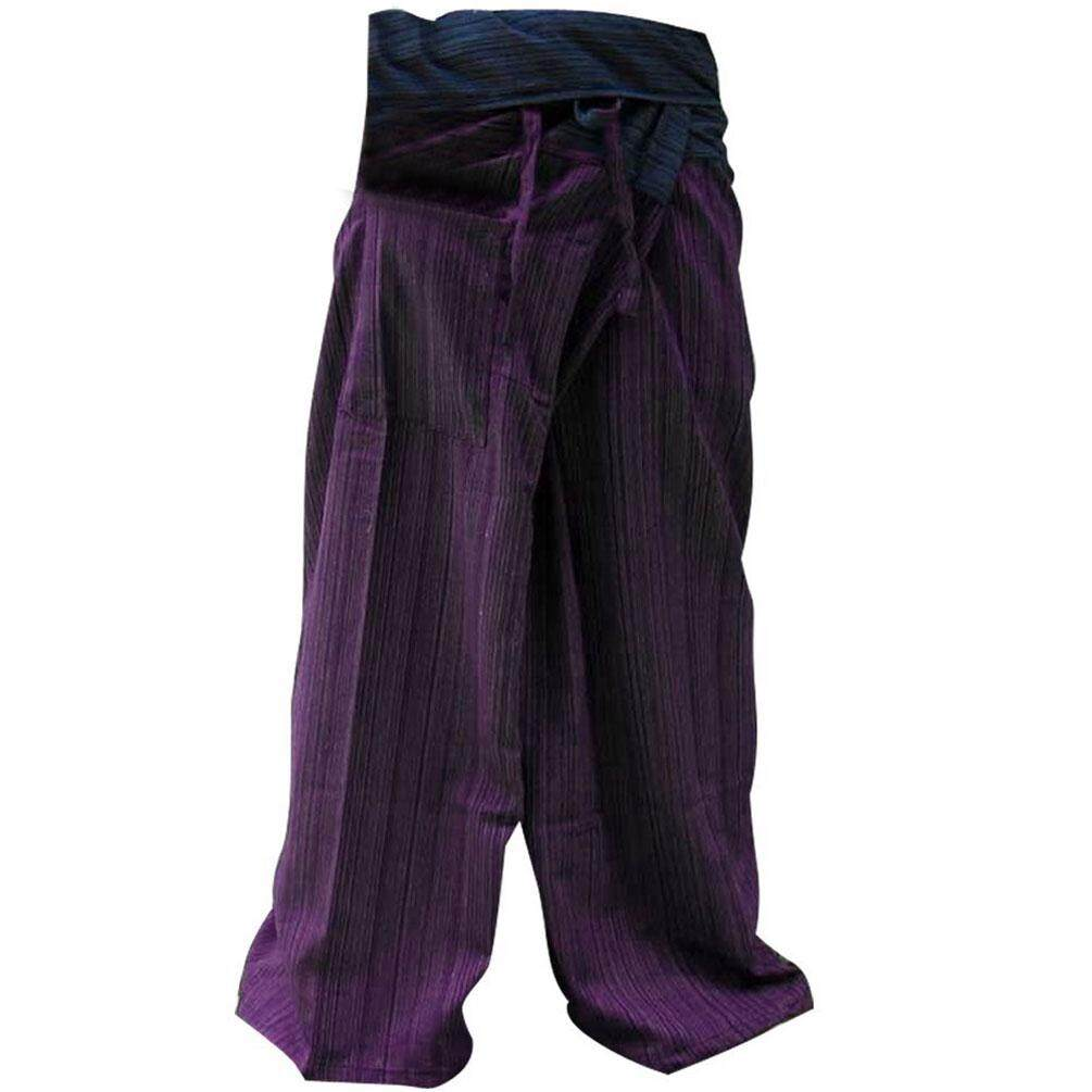 You Like ฟรีใซต์ กางเกงเเฟชั่น กางเกงเลผ้าฝ้ายเเท้ มีลายในตัว มี2สีตรงช่วงเอว1สีและช่วงขาอีก1สี เรียกว่า 2 Tone กางเกงเลตัวนี้เป็น Free Size maxam design