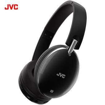 JVC HA-S90BN หูฟังบลูธูทครอบหูพร้อม active noise cancelling รองรับ NFC (Black)-