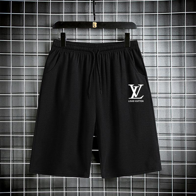 กางเกงขาสั้นแฟชั่นผู้ชาย กางเกงกีฬาขาสั้น กางเกงขาสั้นเอวยางยืด เนื้อผ้าคุณภาพ ระบายอากาศได้ดี K0613.