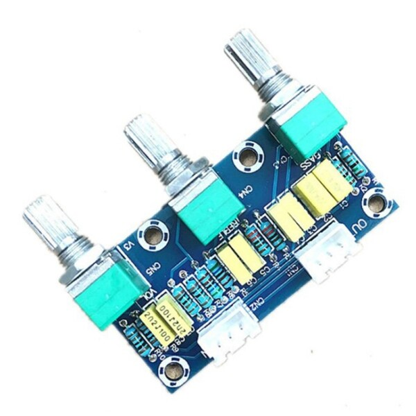 XH-M802 Amplifier Board High and Low Voltage Mixer Tone Board Volume Control Subwoofer PCB Adjustment Amplificador