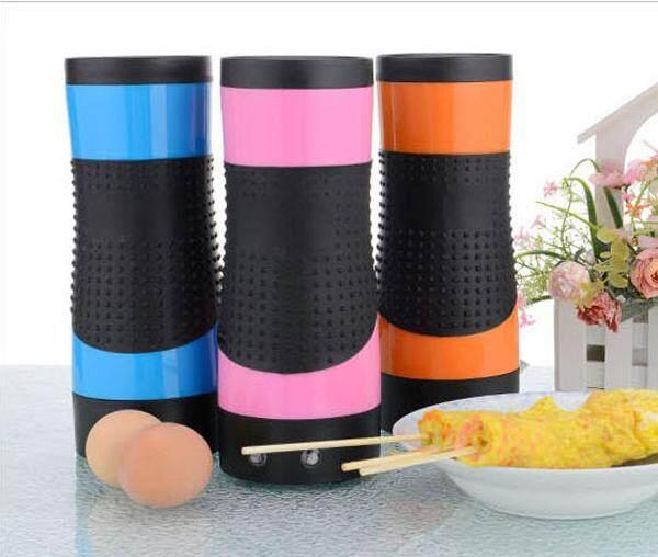 Egg Master เครื่องทำไข่ม้วน รุ่นใหม่ 2018 ใช้ไข่ 2ฟอง ง่ายกว่าสะดวกกว่า ร้อนไวกว่า 210w(pink) By Marybuy.