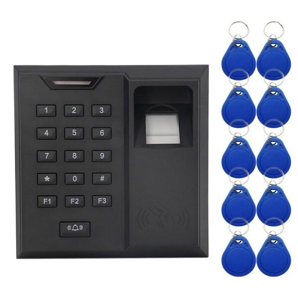 Fingerprint Access Control System Proximity Card Reader Security Door Bell for Door Access Controller Machine