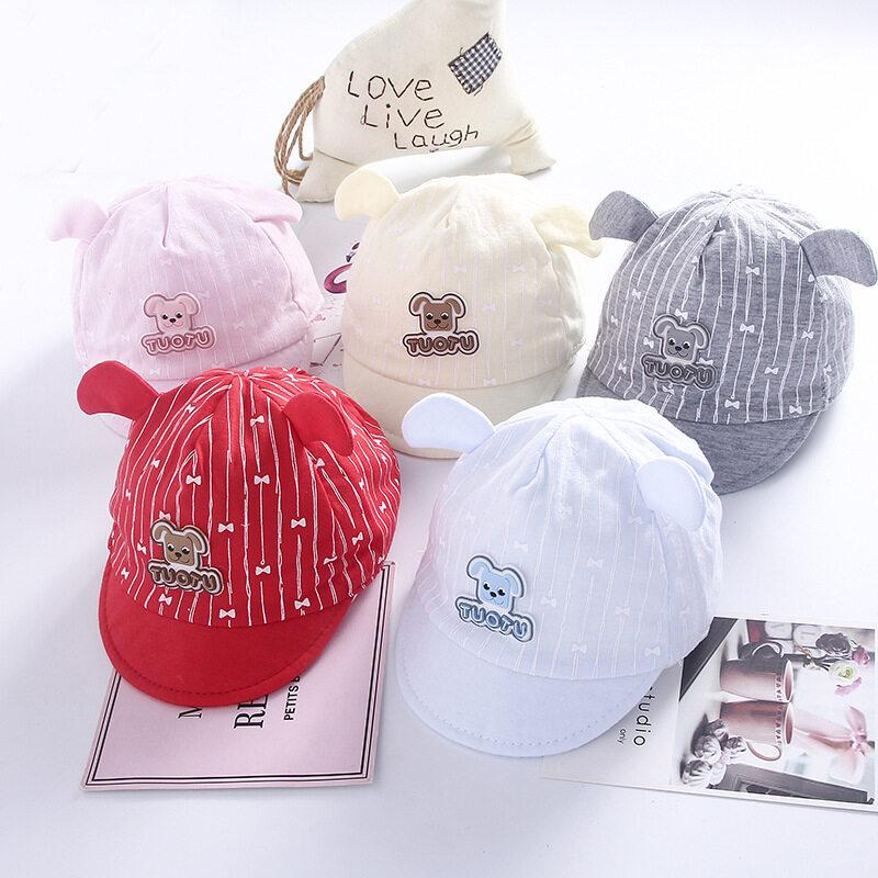 พร้อมส่ง!! หมวกเด็กอ่อน หมวกเด็กเล็กน่ารักๆ สำหรับเด็ก 0-6 เดือน M1.