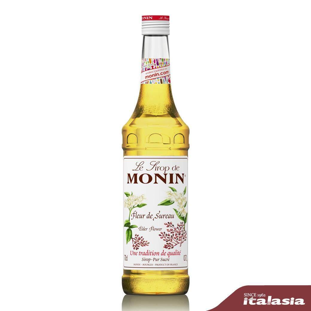 โมนิน เอลเดอร์ฟลาวเวอร์ ไซรัป 700 มล.  Monin Elderflower Syrup 700 Ml..