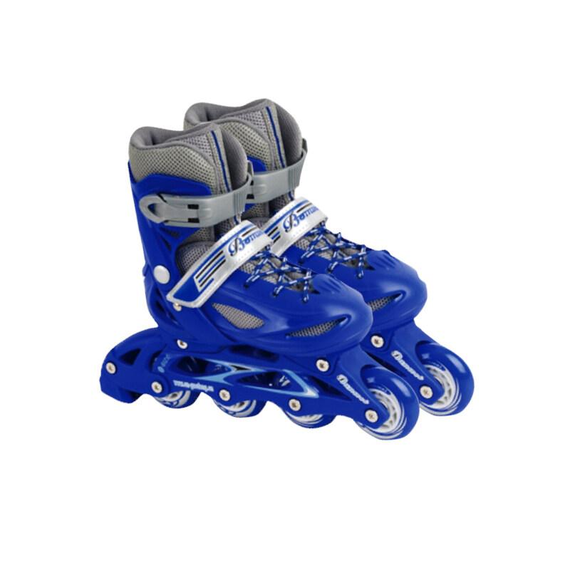Mua Feile roller skates, skates, childrens boys and girls beginners, adjustable straight row skates, roller skates, roller skates