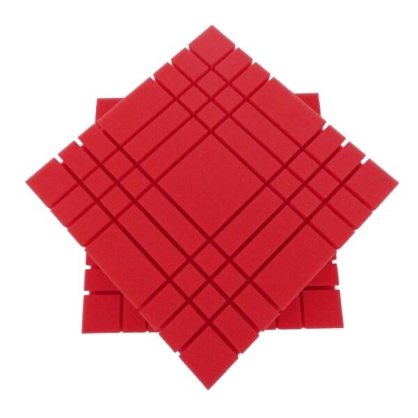 3D Acoustic Panels,Line Design Sound Proof Padding Decorative Wall Tiles for Acoustic Treatment Studio