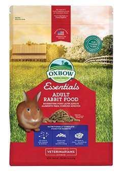 Oxbow Essentials - Adult Rabbit Food อาหารเม็ดสำหรับกระต่ายโต และ แพรี่ด็อก (2.25 Kg.) (0211)-