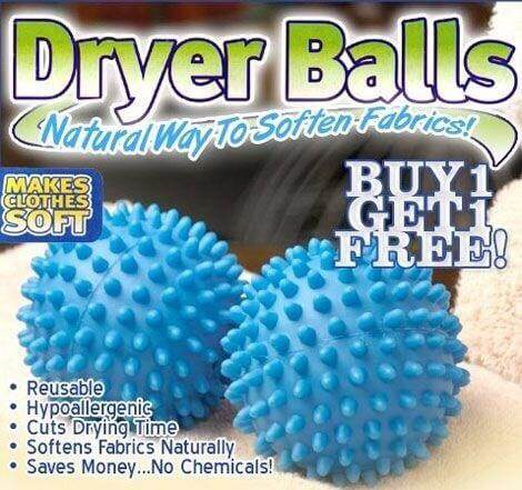 Dryer Balls ลูกบอลซักผ้าถนอมผ้า By Nokstore.