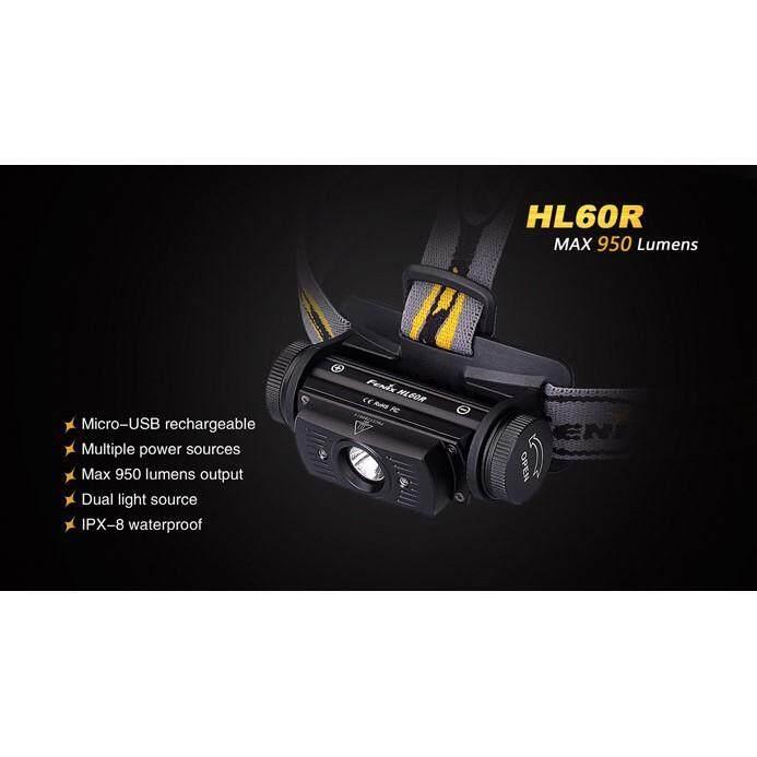 ไฟคาดหัว Fenix Hl60r By Ppp-Shop.