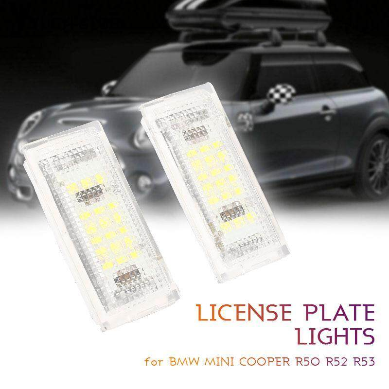 Bmw Mini Cooper R50 R52 R53 Number Plate Light Led License Plate Light By Yueyi Store.