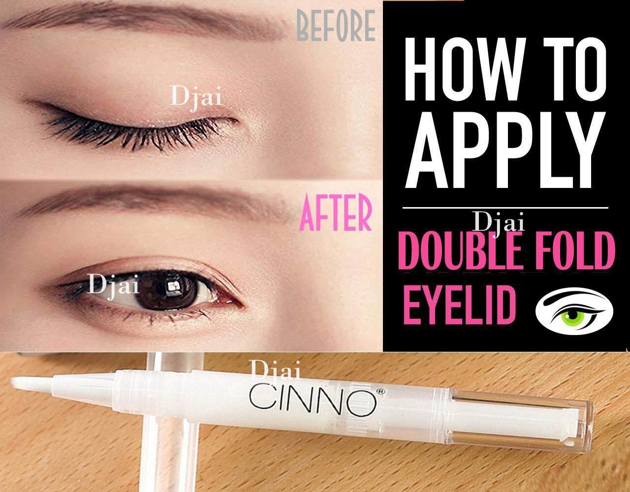 Djai ครีมเจล บิวตี้ ครีมบิ๊กอาย เปลือกตาสองชั้น ตาสองชั้น สวย ธรรมชาติ CINNO Double Eyelid Styling Cream Gel Beauty Big Eyes Cream