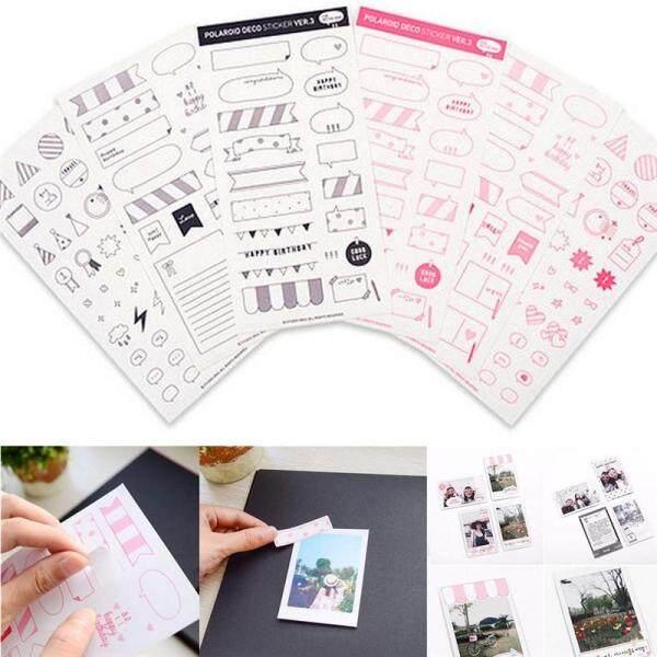 Mua Maraa Pretty 6 Sheets Lịch Tự Làm Ảnh Giấy Sticker Sổ Lưu Niệm Nhật Ký Kế Hoạch Trang Trí