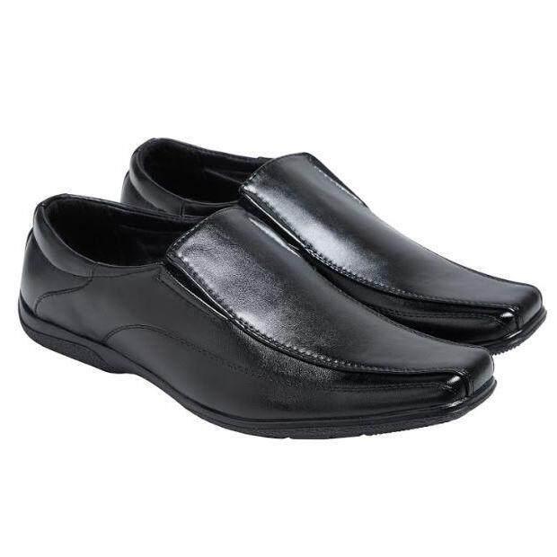 Esther รองเท้าผู้ชาย รองเท้าหนัง รองเท้าทางการ รุ่น K008 สีดำ.