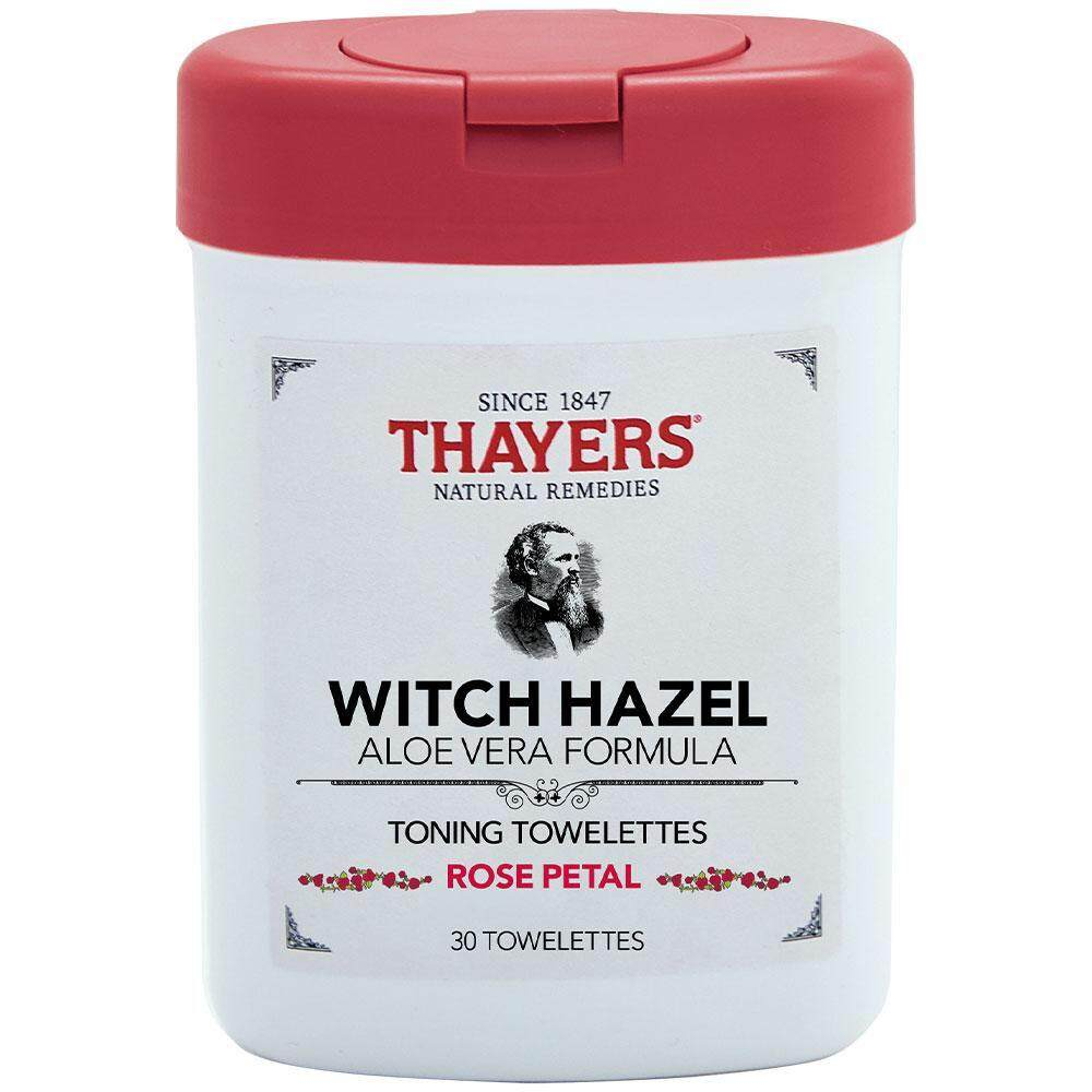 Thayers Witch Hazel Rose Petal Toning Towelettes By Cheapestonsale.