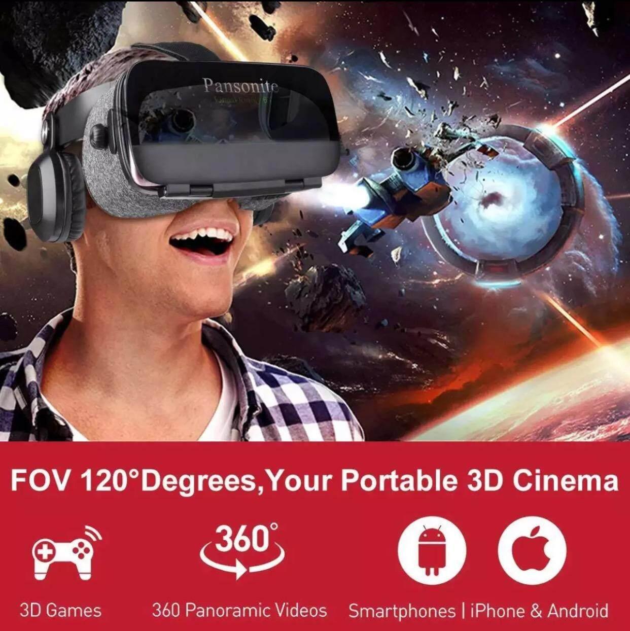 Bobovr Z5 3d Vr แว่นตาเสมือนจริง 120 ° Fov วิดีโอหูฟังเล่นเกมสำหรับ 4.7-6.0 นิ้ว Android และ Ios โทรศัพท์ (ไม่มีบลูทูธ).