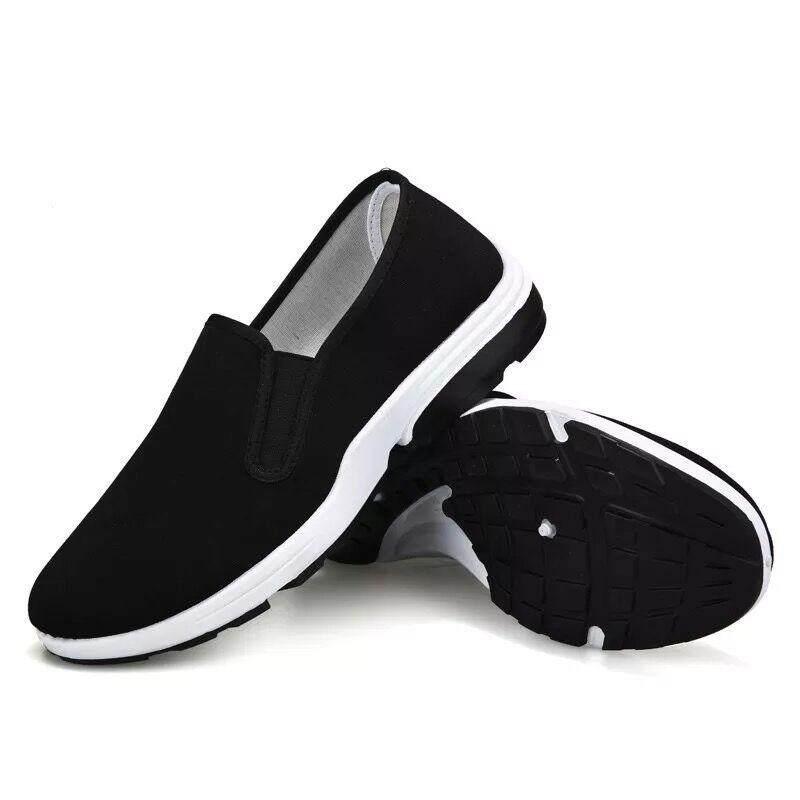 BJshoes canvas shoes รองเท้าผ้าใบสวมง่ายๆ ใส่สบาย casual shoes