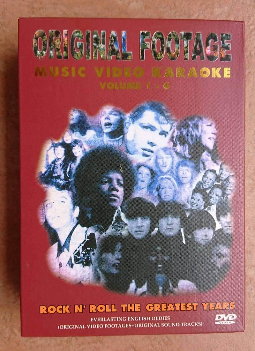 Original Footage Music Video Karaoke Volume 1 - 6 By Cncm Shop.