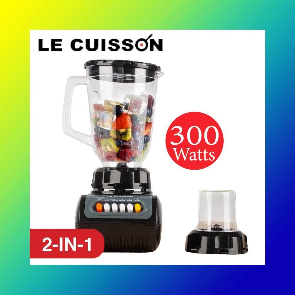 เครื่องปั่นน้ำผลไม้ อเนกประสงค์แบบ 2 in 1 Le Cuisson Electric Blender 300W
