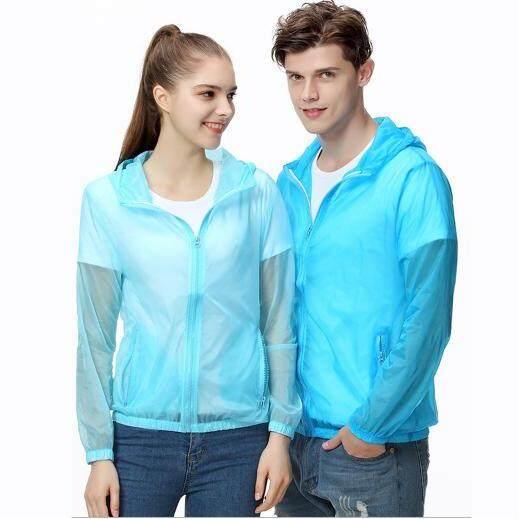 เสื้อกันแดด สำหรับกิจกรรมกลางแจ้ง กอล์ฟ จักรยาน วิ่ง มอเตอร์ไซค์ ขับรถ ตกปลา ใส่แล้วเย็น กันuv Protection ใช้ได้ทั้ง ชายและหญิง(blue) By Hodo.
