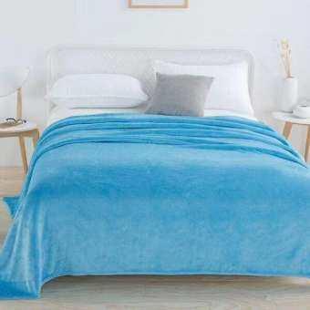 ผ้าห่มนาโน ผ้าหนานุ่ม ขนาด 180x220 cm.- Nano 208-