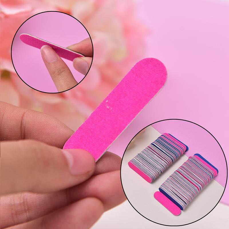WORE 100pcs Mini Nail Files Nail Disposable Cuticle Remover Buffers Nail  Art Tools