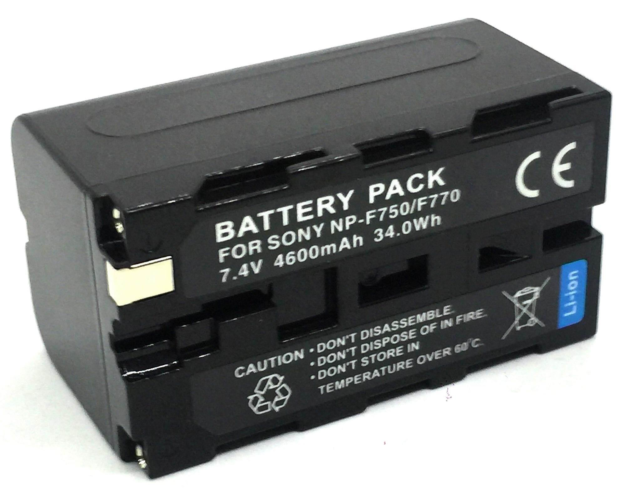 แบตเตอรี่กล้องโซนี่ รหัส Np-F730 Np-F750 Np-F760 Np-F770 แบตใช้กับกล้อง Sony Ccd-Tr845, Tr87, Tr910, Tr913, Tr917, Tr918, Tr930, Tr940, Tr950, Tr97 Replacement Battery For Sony By Jaoying_shop.