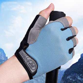 KUNGFU CAT ถุงมือฟิตเนส ถุงมือออกกำลังกาย ถุงมือยกน้ำหนัก Weight Lifting Gloves Black Riding glove Bodybuilding Fitness Glove
