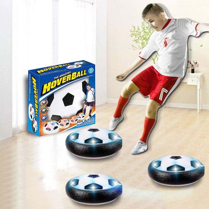 (ส่งด่วนๆ)ลูกฟุุตบอล [a0053] ของเล่น Hover Ball ฟุตบอลของเล่นเพื่อฝึกฝนทักษะการเล่นฟุตบอลสำหรับในร่มมีไฟ Led.