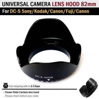 ฮูดเลนส์ เลนส์กล้อง กลีบดอกไม้ Universal Screw Mount Flower Petal Camera lens hood for DC-S Sony Kodak Canon Fuji Nikon Olympus 49 52 55 58 67 72 77 82-