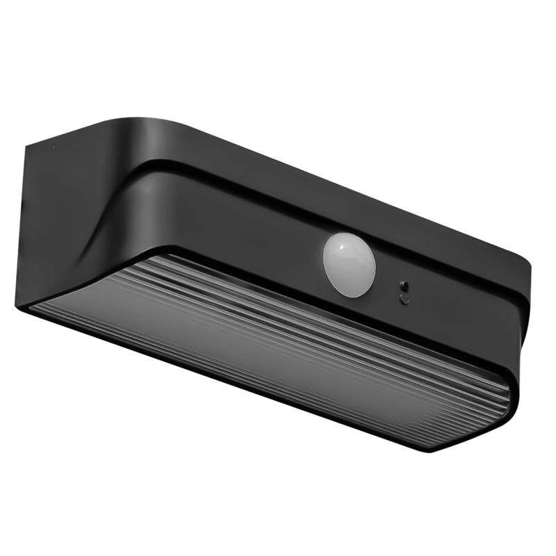 Solar Wall Light PIR Motion Sensor Light Garden Outdoor Waterproof LED Wall Light